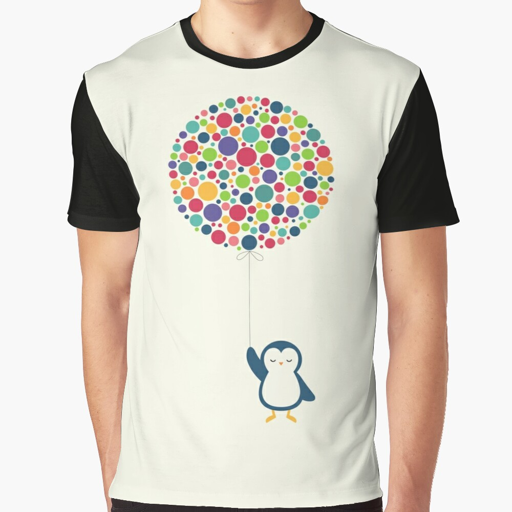 Float In The Air Graphic T-Shirt