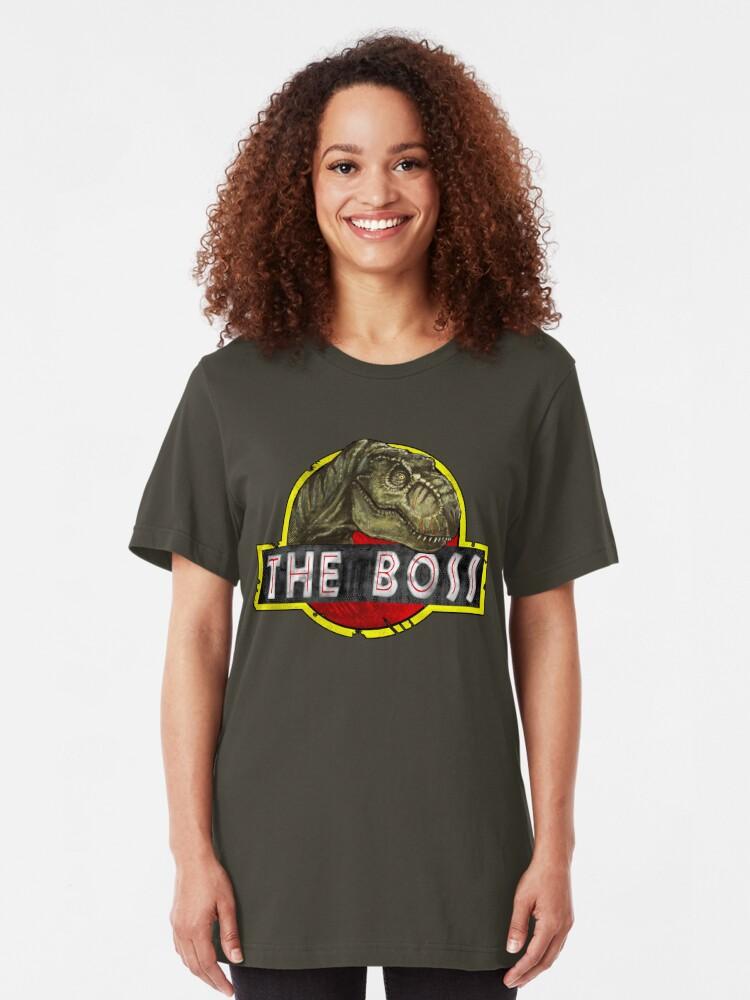 Alternate view of T-Rex the Boss Slim Fit T-Shirt