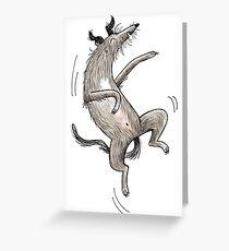 Scottish Deerhound - Irish Wolfhound Grußkarte