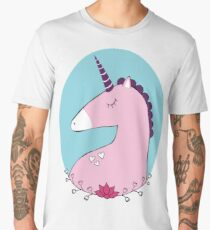 Unicorn in love Men's Premium T-Shirt