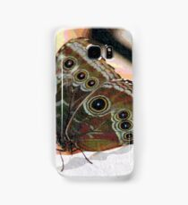 Butterfly Oil Pastel Samsung Galaxy Case/Skin