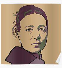 Simone de Beauvoir Poster