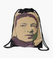 Simone de Beauvoir Drawstring Bag