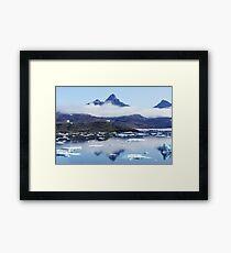 Arctic PEACE CLOUD Framed Print