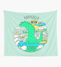 Greg The Green Z Wall Tapestry