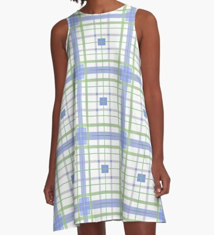 AFE Tartan Pattern3 A-Line Dress