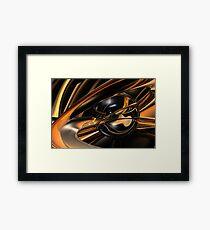 Black Hole Sun Framed Print