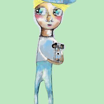 Blue Boy Accessories  by Hyssopartz