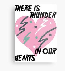 Kate Bush Thunder in our Hearts Metal Print