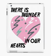 Kate Bush Thunder in our Hearts iPad Case/Skin