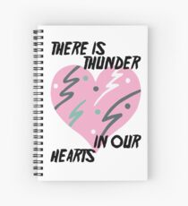 Kate Bush Thunder in our Hearts Spiral Notebook