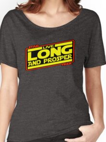 Live Long & Prosper Strikes Back Women's Relaxed Fit T-Shirt