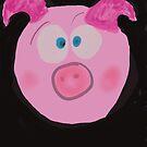 Pig  by Claybornnation