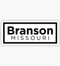 Branson Missouri Sticker