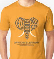 #LNSG zum afrikanischen Elefanten Unisex T-Shirt