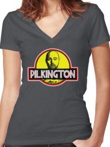 Karl Pilkington Women's Fitted V-Neck T-Shirt