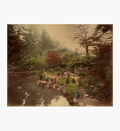 Oji Tea House garden Photographic Print