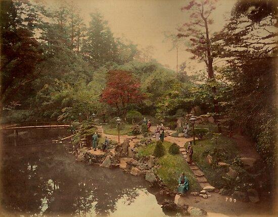 Oji Tea House garden by Fletchsan