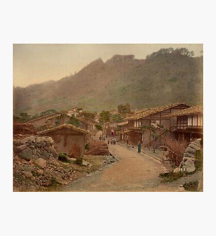 Wada village, Nakasendo Photographic Print