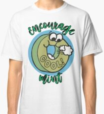 Candy Mint Funny Humor Encouragement Classic T-Shirt