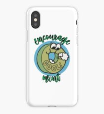 Candy Mint Funny Humor Encouragement iPhone Case