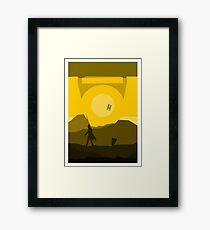 Borderlands - CL4P-TP Framed Print