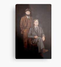 Dwight Schrute Mose Painting  Metal Print
