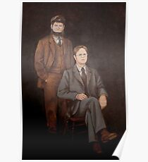 Dwight Schrute Mose Painting  Poster