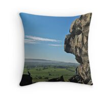 Lower Wharfedale Throw Pillow