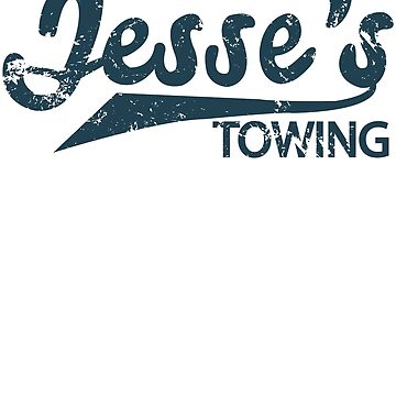 Jesse's Towing Distressed T-Shirt by infinitedrifter
