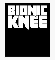 Bionic Knee | Joint Replacement Knee Surgery Photographic Print
