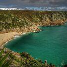 The Beach, Porthcurno. Cornwall by hans p olsen