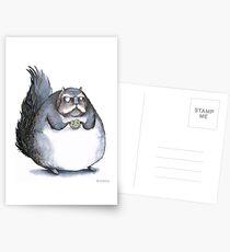 Bear the Diabeetus Squirrel Postcards