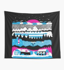 Wander With The Stars Wall Tapestry