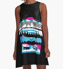 Wander With The Stars A-Line Dress