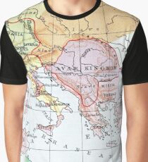 historical map of Europe Graphic T-Shirt