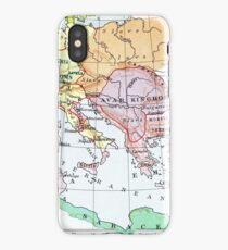 historical map of Europe iPhone Case