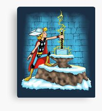 King Ar-THOR Canvas Print