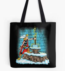 King Ar-THOR Tote Bag