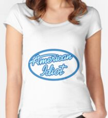 intel parody Women's Fitted Scoop T-Shirt