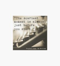 The Scariest Moment Art Board