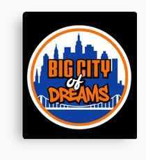 Big City of Dreams Canvas Print