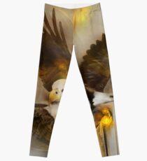 "Eagle eagles ""bald eagle""  ""bald eagles"" animals,wildlife,wildlife art,nature Leggings"