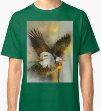 "Eagle eagles ""bald eagle""  ""bald eagles"" animals,wildlife,wildlife art,nature Classic T-Shirt"