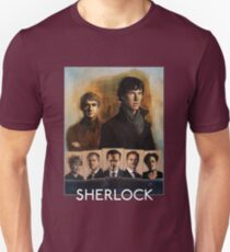 Sherlock Cast Portraits T-Shirt