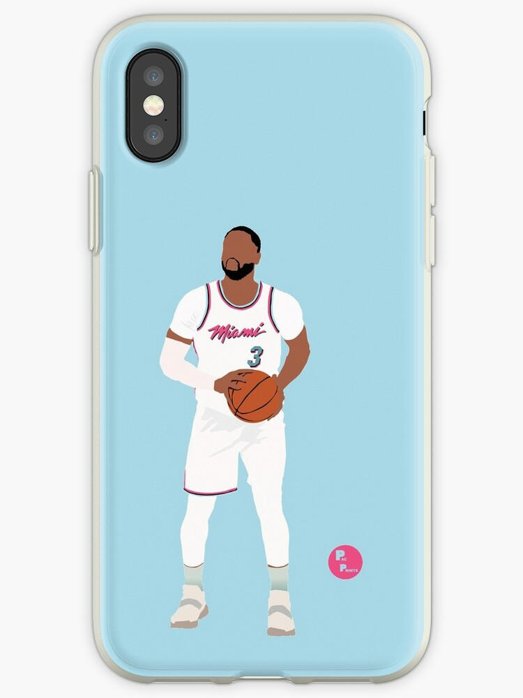 a949b5e4c Dwayne Wade  The R3turn  Miami Heat Minimalist Art    Phone cases ...