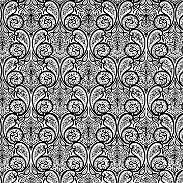 Parade Paisley Pattern Decor by LuzECruz