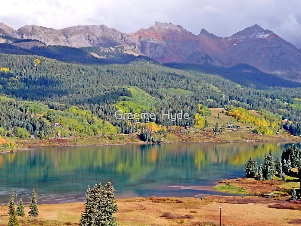 Reflections near Telluride by Graeme  Hyde