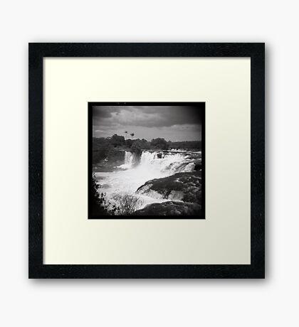 Cachoeira da Velha - Brazil Framed Print
