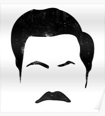 Ron Swanson Parks And Rec Poster